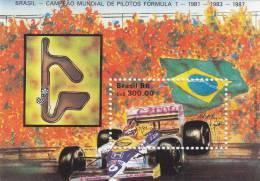 Brasil HB 72 - Hojas Bloque