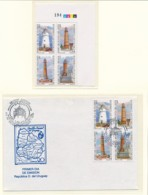 URUGUAY Mi. Nr. 2526-2529 Leuchttürme  - Siehe Scan- MNH, FDC - Vuurtorens