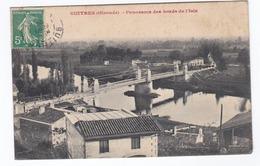 GUITRES Panorama Des Bords De L'Isle (circulée) - France