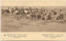 Koksijde  - Coxyde S/Mer   *  Ster Der Zee - Etoile De La Mer - Zusters Dominicanessen - Aan Het Strand - Koksijde