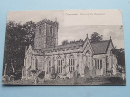 CROWCOMBE Church Of The Holy GHOST ( Montague Cooper Taunton ) Anno 190? ( Zie Foto ) - Angleterre