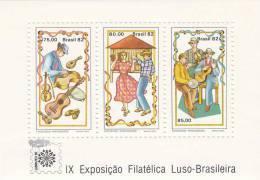 Brasil Hb 51 - Hojas Bloque