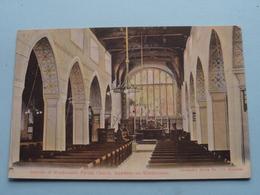 Interior Of Windermere Parish Church, BOWNES-on-WINDERMERE ( Abraham's Series N° 472 Keswick ) Anno 1907 ( Zie Foto ) - Cumberland/ Westmorland