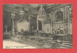 """C.P.A.  ( 77 )  """" Palais De Fontainebleau.  """" Salle Du Trône    Voir 2 Photos - Fontainebleau"""