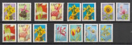 France - 2002-08 - Préo N°Yv. 244 à 258 - Fleurs - Complet - Neuf Luxe ** / MNH / Postfrisch - 1989-....