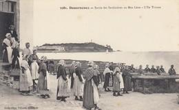 DOUARNENEZ: Sortie Des Sardinières Au Men Léon - L'Ile Tristan - Douarnenez