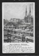 """AK 0378  Wien Im Zeichen Der """" Electrischen """" - Eröffnungstag Am 29. Jänner 1902 - Strassenbahnen"""