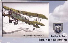 TURKEY - De Havilland DH-4 1918-25 (Aircraft) , Tirage 275,000 , 50 Unit ,used - Türkei