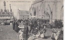 SAINT-JEAN-TROLIMON: Chapelle De Tronoen Un Jour De Pardon - Saint-Jean-Trolimon