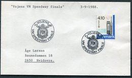1988 Denmark Vojens Speedway Final Cover. Europa - Denmark