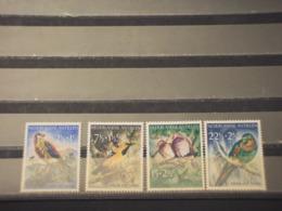 ANTILLE - 1958 UCCELLI 4  VALORI -  NUOVI(++) - Antille