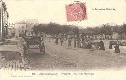 Dépt 54 - FROUARD - Place De La République - (Éditeur : P. Helmlinger & Cie, Imp. Phot. Nancy, N° 110) - Frouard