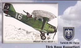 TURKEY - Breguet XIX A-2 1921-37 (Aircraft) , Tirage 275,000 , 50 Unit ,used - Türkei