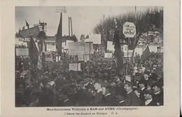BAR SUR AUBE  ( Champagne )  : Manfestations Viticoles- L'Heure Des Discours Au Kiosque - Bar-sur-Aube