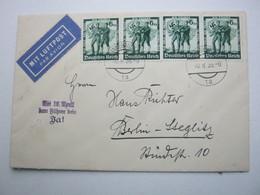 1938 ,  10 .April  Wien  , Seltener Sonderstempel Auf Brief - Briefe U. Dokumente