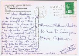 GIRONDE - Flamme Illustrée à Droite SOULAC - SUR - MER Du 19 - 7  1976 - Marcophilie (Lettres)
