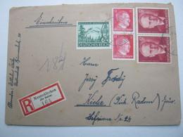 1938 , 1943 , NEUENKIRCHEN (kr.Melle)   , Einschreiben - Briefe U. Dokumente