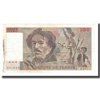 France, 100 Francs, Delacroix, 1993, TTB, Fayette:69bis.05, KM:154g - 1962-1997 ''Francs''