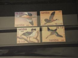 NAMIBIA - 2000 UCCELLI 4 VALORI -  NUOVI(++) - Namibia (1990- ...)