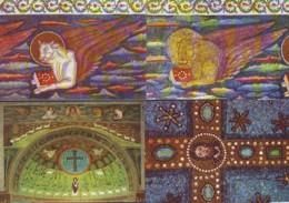 Mosaici Di Ravenna, S. Apollinare In Classe - Galla Placidia -S. Apollinare Nuovo-S.Vitale  13 Cartoline - Antichità