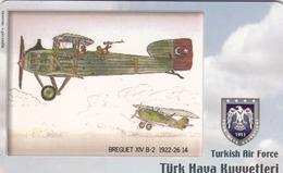 TURKEY - Breguet XIV B-2 1922-26 (Aircraft) , Tirage 275,000 , 50 Unit ,used - Türkei