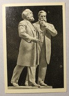 15574 Karl Marx And Friedrich Engels - Politieke En Militaire Mannen