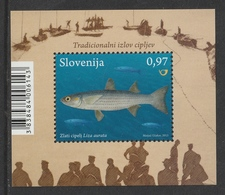 SLOVENIA 2013 Fauna/Fishes: Miniature Sheet UM/MNH - Slowenien