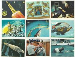 LOT De CHROMOS VICTORIA - L'Espace - Artis Historia