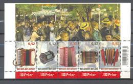 BLOK 139 ACCORDEON  POSTFRIS** 2007 - Blocks & Kleinbögen 1962-....