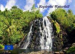 Micronesia Pohnpei Kepirohi Waterfall New Postcard Mikronesien AK - Micronesië