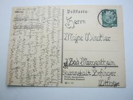 1934 , LIETZEN , Klarer Stempel Auf Karte - Briefe U. Dokumente