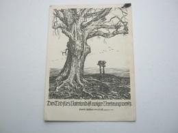 1940 . Propagandakarte Mit Feldpost Verschickt - Briefe U. Dokumente