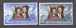 Iles Vierges    :  Yv  239-40   **   Bateau - Boat - British Virgin Islands