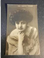 20016) ATTRICE PAZ CARMEN FERRER  VIAGGIATA 1910 - Artiesten