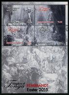 TONGA - 2015 - Pâques 2015, Peintures De Rembrandt - BF Neufs // Mnh - Tonga (1970-...)