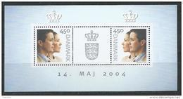 Danemark 2004 Bloc Feuillet N° 25 Neuf, Mariage Princier - Blocs-feuillets