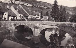 25. ORNANS. PONT DE NALIM ET LA ROCHE. ANNEE 1948 + TEXTE - Andere Gemeenten