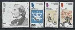MALTA 2005 Hans Christian Andersen: Set Of 4 Stamps UM/MNH - Malta