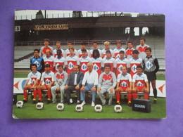 CPA EQUIPE DE FOOT FOOTBALLEURS 69 OLYMPIQUE LYONNAIS 1985-86 - Soccer