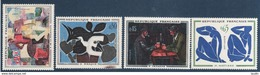 Serie Tableaux 1961 , N° 1319 - 1320 - 1321 - 1322 , Neuf ** Port Gratuit - France