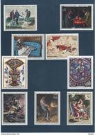 Lot Tableaux Divers , Port Gratuit N° 1321 - 1363 - 1364 - 1365 - 1376 - 1419 - 1493 - 1555 - 1672 , Neufs ** - Neufs