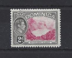 DOMINICA....KING GEORGE VI.(1936-52)....2d......SG102......MH.. - Dominica (...-1978)