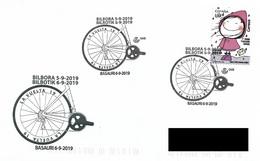 SPAIN. POSTMARK CYCLING. BASAURI 2019 - España