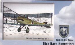 TURKEY - De Havilland DH-9 1921-25 (Aircraft) , Tirage 275,000 , 50 Unit ,used - Türkei