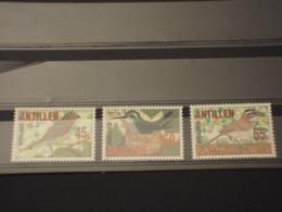 ANTILLE - 1984 UCCELLI 3 VALORI - NUOVI(++) - Antille
