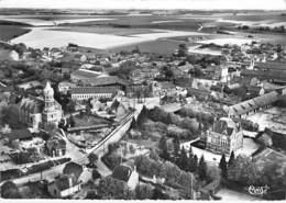 80 - MONCHY LAGACHE : Vue Générale - CPSM Village ( 660 Habitants) Dentelée Noir Blanc Grand Format - Somme - Autres Communes
