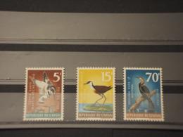 SENEGAL - 1968 UCCELLI 3 VALORI -  NUOVI(++) - Senegal (1960-...)
