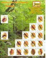 PHILIPPINES.  Feuillet De 2008. Jakarta 2008. Aigle/Hibou/Perroquet... - Eagles & Birds Of Prey