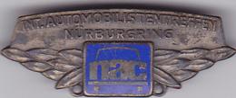 OLD PIN  --  NURNBERG, DEUTSCHLAND  --  INT. AUTOMOBILISTENTREFFEN NURBURGRING  --  REVERS:  1 FLECK, HAMBURG - Pin's & Anstecknadeln