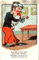 Humour 612, Femme Langue Enchainée - Humor